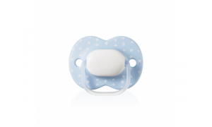 Pacifier C2N silicon Little London Boy, 0 - 6 months